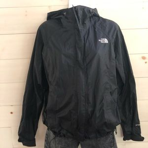 {north face} hyvent rain jacket